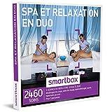 smartbox - spa et relaxation en duo - coffret cadeau bien etre - à choisir parmi 2460 soins :