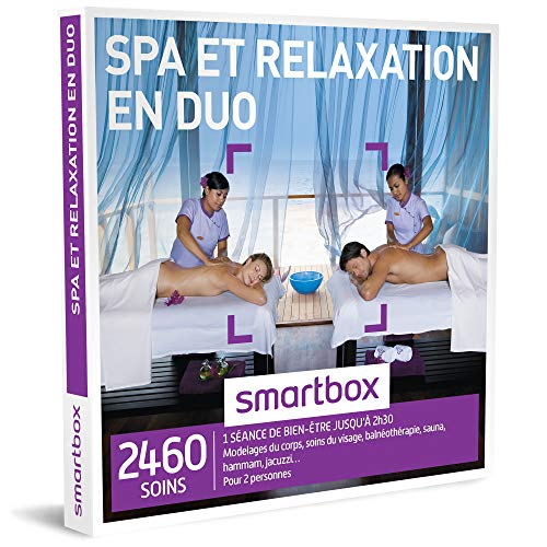 SMARTBOX - Coffret Cadeau couple - Spa et relaxation en duo - idée cadeau - 2460...