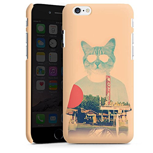 Apple iPhone X Silikon Hülle Case Schutzhülle Katze The Cat Ip Haustier Premium Case matt