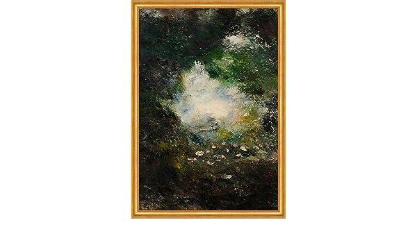 Wonderland August Strindberg Blumen Wald Bäume Pflanzen Licht Blüten B A2 00728