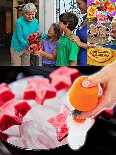 Uteruik Obstformer - Obst-Salat Schnitzen Gemüse Obst Arrangements Smoothie Kuchen Werkzeuge Küche Essbar Bar Kochen Zubehör Zubehör Zubehör - Obst Shaper Cutter