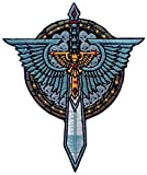 Unbekannt Dark Angels Sword Skulls Warhammer 40,000 3.5 Inches Aufnäher Patch