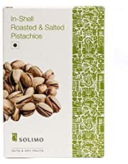 Solimo Premium Roasted and Salted California Pistachios, 250g