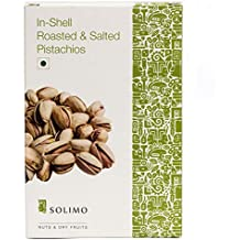 Amazon Brand - Solimo Premium Roasted and Salted California Pistachios, 250g
