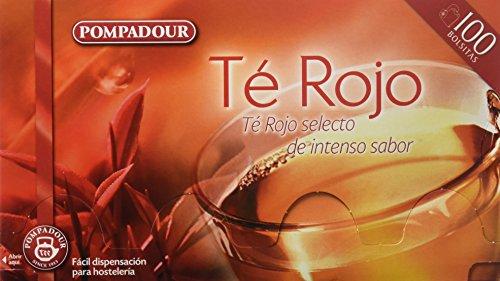 Pompadour Té Rojo - 100 bolsitas - [pack
