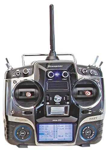Graupner 33124.16.EN - Digitalradio mx-20 HoTT 12 Kanäle EN