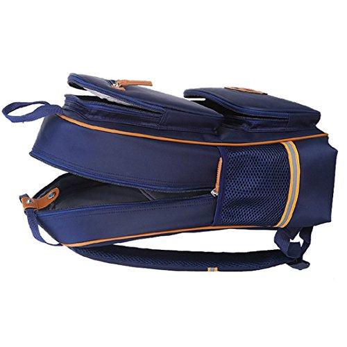 WOLFBUSH Babyrucksack Kindergartenrucksack Kinder Rucksack kinderhandtasche Schultasche Children Student Schoolbag - Rosig Dunkelblau
