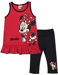 Ensemble fille Débardeur + Leggings court Minnie de Disney