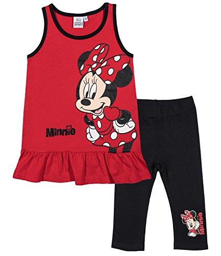 Ensemble fille Débardeur + Leggings court Minnie de Disney Disney