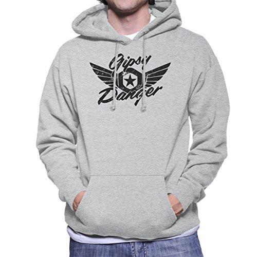 Gipsy Danger Pacific Rim Men's Hooded Sweatshirt