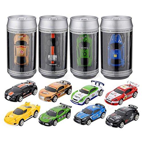 REFURBISHHOUSE Mini Koks Funk Fernbedienung RC Micro Racing Auto Geburtstag Geschenk Spielzeug zufaellig Farbe