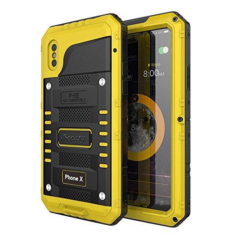 Beeasy Funda Impermeable iPhone X