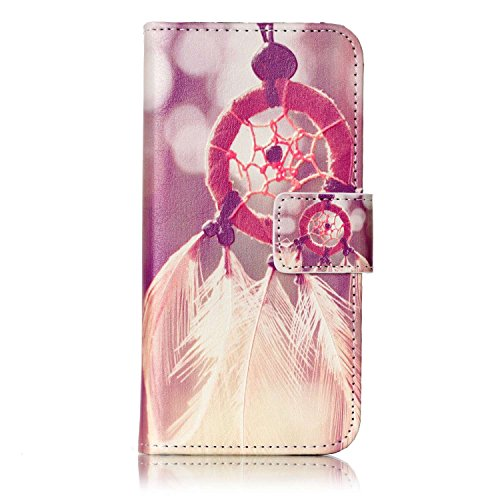 Voguecase Pour Apple iPhone 7 4,7 Coque, Étui en cuir synthétique chic avec fonction support pratique pour iPhone 7 4,7 (crâne 06)de Gratuit stylet l'écran aléatoire universelle Campanula plume 12