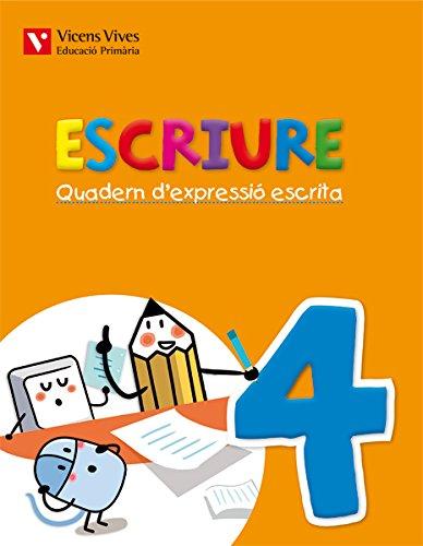 Escriure. Quadern D'Expressió Escrita 4. Illes Balears - 9788468219905