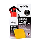 NitWits All-in-One Lice Treatment for Head Lice | 120ml | Includes Comb
