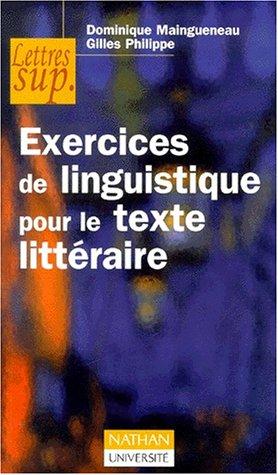 Exercice de linguistique