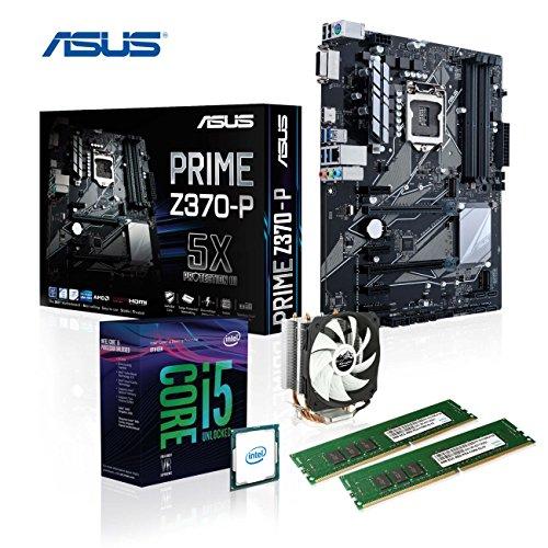 Memory PC Aufrüst-Kit Intel Core i5-9600K, 16 GB DDR4, ASUS Prime Z370-P, Alpenföhn Kühler Ben Nevis, komplett fertig montiert und getestet