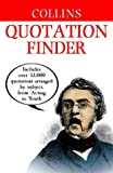 Collins Quotation Finder (Dictionary)