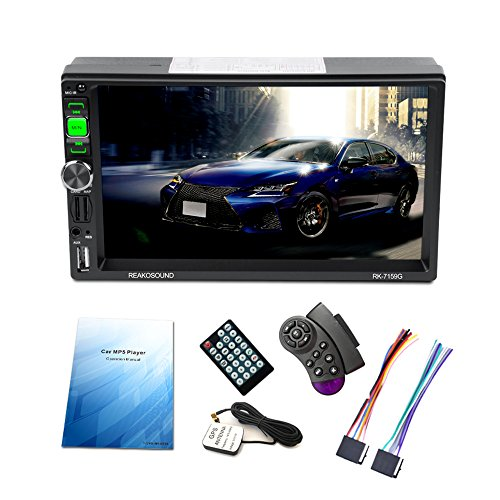 'KKmoon 7 2 Din Autoradio lecteur GPS Navigation universelle Full HD 1080p voiture stéréo Radio Car MP5 Player BT AM/FM/RDS Lecteur audio pour voiture multimédia d'divertissement