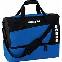 erima Sporttasche mit Bodenfach - Bolsa de deporte, color azul, talla S
