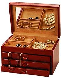 Mele & Co Rachel Brown Faux Leather XL Jewellery Box