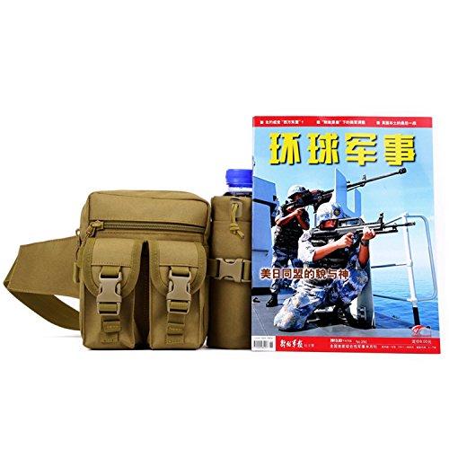 Protector Plus Tasche a bollitore per uomini e donne bici piccolo per cavalcate all'aperto tasche da viaggio viaggio borsa piccola per il tempo libero , jungle orange red