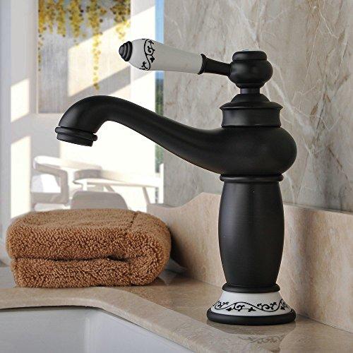 Hiendure Mitigeur de lavabo Robinet d'évier Vintage...