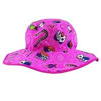 Baby Banz 17435 50+ Uv Koruma Çift Taraflı Güneş Şapkası, Pembe