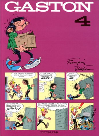 Gaston, tome 4