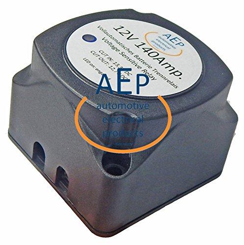 Vollautomatisches Batterie Trennrelais 12 V / 140 Ampere -