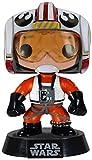 Funko PDF00003878 - Figura con Cabeza móvil Luke Skywalker, Star Wars (PDF00003878) - Star Wars Figura Head Pop Luke Piloto (10 cm)