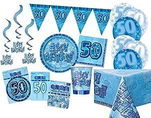 Unique Party Party Kit Color azul 63769