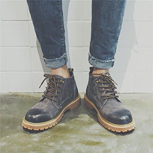 HL-PYL-Tooling Stivali Stivali scarpe retrò retrò retrò coreano Martin Stivali Stivali alti,42,grigio B078MJV86R Parent | Per Vincere Una Ammirazione Alto  | Primo gruppo di clienti  | Lascia che i nostri beni escano nel mondo  4c698c
