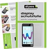 dipos I 2X Schutzfolie matt passend für Wiko Sunny 3 Folie Bildschirmschutzfolie