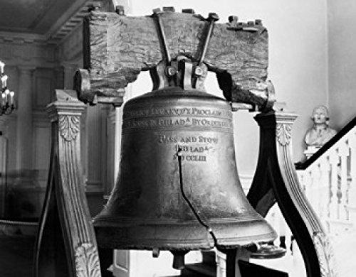 Poster Liberty Bell (Liberty Bell Philadelphia Pennsylvania USA Poster Drucken (60,96 x 91,44 cm))