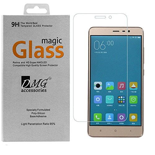 Coolpad Note 3 Lite Screen Protector, DMG Magic Glass Premium Curved HD Tempered Glass for Coolpad Note 3 Lite
