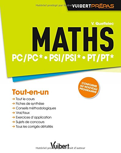 Maths PC/PC* PSI/PSI* PT/PT* - Tout-en-u...