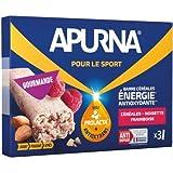 Lot de 9 barres Energie Apurna Noisette/Framboise