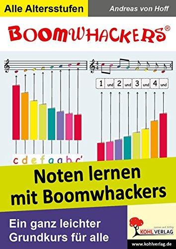 Noten lernen mit Boomwhackers