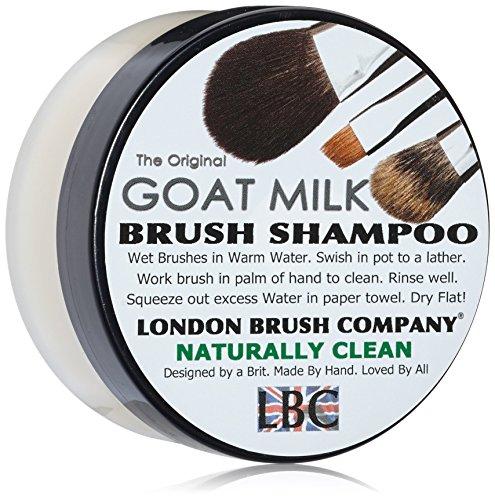 Londres cepillo empresa Leche Pura de cabra Solid cepillo Champú