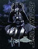Star Wars Decke Darth Vader 130 cm x 170 cm Flanelldecke Fleecedecke Kuscheldecke zur Bettwäsche - Starwars - Disney - Clone Stormtrooper Chewbacca Luke Skywalker Han Solo Prinzessin Lea Rey BB8 R2D2 Kylo Ren - kuschelweich