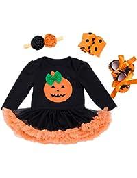 Bebé Princesa Vestido Halloween Diadema Niña Mágico Fantasía Traje Tul Carnaval Ropa Disfraz Conjunto Fiesta Cosplay
