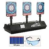 Objetivo para Nerf,Auto Reset Shooting Target Electrónico Scoring de...