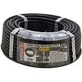 S&M 010057 - Tubería goteo, 16 mm x 50 m, color negro