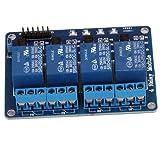 SODIAL(R) 4 Kanal 5V Relay Relais Module Modul f¨¹r Arduino TTL-Logik