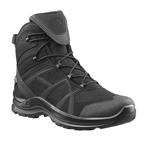 Haix Black Eagle Athletic 2.1 GTX mid/Black NEU: Optimiertes Design - Robuste Schuhe für Beruf und Freizeit. 46