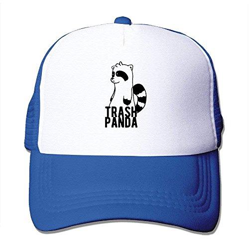 Suxinh Mesh Hat Trash Panda Cartoon Cute Strapback Hats Unisex Cap