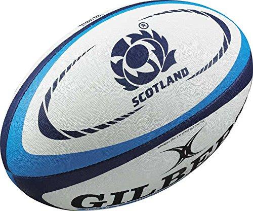 Preisvergleich Produktbild Gilbert MiniRugby-Ball, ScotlandInternational Replik Weiß weiß Mini - Scotland