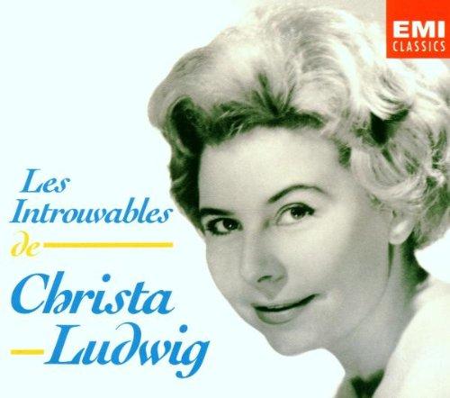Les Introuvables de Christa Ludwig