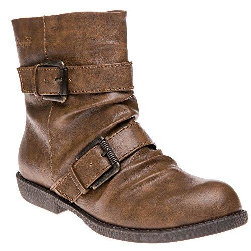 Blowfish Anuku Femme Boots Marron Marron